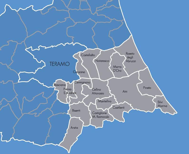 Il territorio DMC